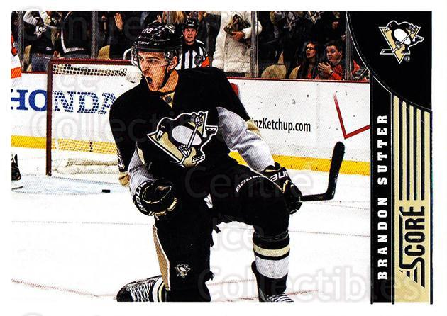 2013-14 Score #410 Brandon Sutter<br/>4 In Stock - $1.00 each - <a href=https://centericecollectibles.foxycart.com/cart?name=2013-14%20Score%20%23410%20Brandon%20Sutter...&price=$1.00&code=662948 class=foxycart> Buy it now! </a>