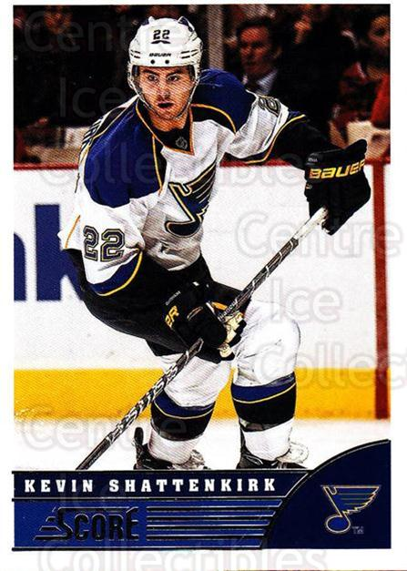 2013-14 Score #440 Kevin Shattenkirk<br/>4 In Stock - $1.00 each - <a href=https://centericecollectibles.foxycart.com/cart?name=2013-14%20Score%20%23440%20Kevin%20Shattenki...&quantity_max=4&price=$1.00&code=662978 class=foxycart> Buy it now! </a>