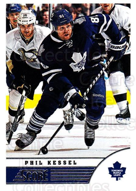 2013-14 Score #476 Phil Kessel<br/>3 In Stock - $1.00 each - <a href=https://centericecollectibles.foxycart.com/cart?name=2013-14%20Score%20%23476%20Phil%20Kessel...&quantity_max=3&price=$1.00&code=663014 class=foxycart> Buy it now! </a>
