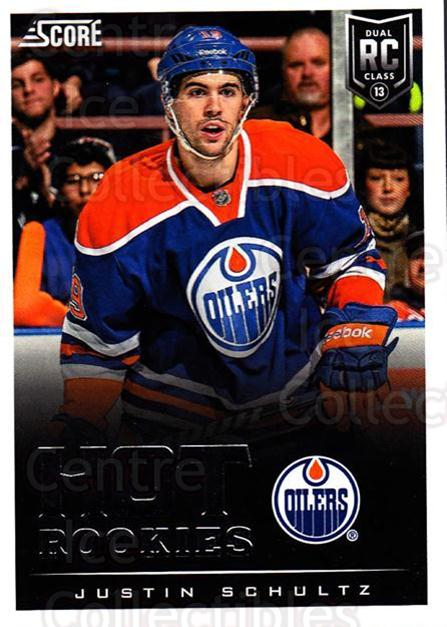 2013-14 Score #642 Justin Schultz<br/>6 In Stock - $2.00 each - <a href=https://centericecollectibles.foxycart.com/cart?name=2013-14%20Score%20%23642%20Justin%20Schultz...&quantity_max=6&price=$2.00&code=663180 class=foxycart> Buy it now! </a>