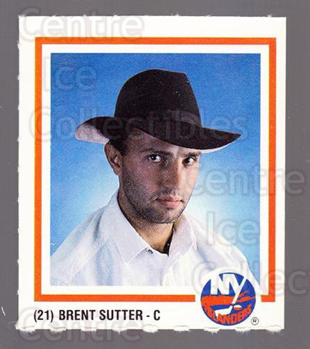 1986-87 New York Islanders Team Issue #7 Brent Sutter<br/>1 In Stock - $3.00 each - <a href=https://centericecollectibles.foxycart.com/cart?name=1986-87%20New%20York%20Islanders%20Team%20Issue%20%237%20Brent%20Sutter...&quantity_max=1&price=$3.00&code=663295 class=foxycart> Buy it now! </a>