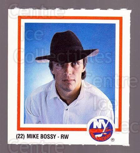 1986-87 New York Islanders Team Issue #21 Mike Bossy<br/>1 In Stock - $3.00 each - <a href=https://centericecollectibles.foxycart.com/cart?name=1986-87%20New%20York%20Islanders%20Team%20Issue%20%2321%20Mike%20Bossy...&price=$3.00&code=663309 class=foxycart> Buy it now! </a>