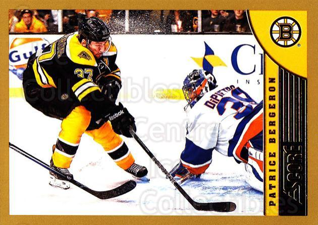 2013-14 Score Gold #20 Patrice Bergeron<br/>1 In Stock - $2.00 each - <a href=https://centericecollectibles.foxycart.com/cart?name=2013-14%20Score%20Gold%20%2320%20Patrice%20Bergero...&quantity_max=1&price=$2.00&code=663338 class=foxycart> Buy it now! </a>