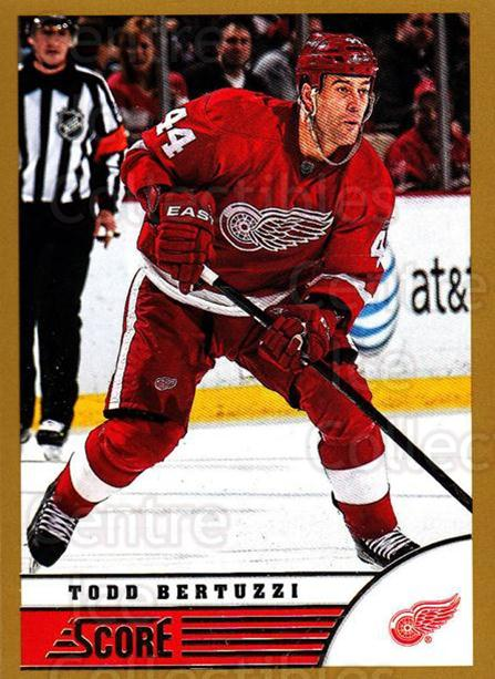 2013-14 Score Gold #169 Todd Bertuzzi<br/>1 In Stock - $1.00 each - <a href=https://centericecollectibles.foxycart.com/cart?name=2013-14%20Score%20Gold%20%23169%20Todd%20Bertuzzi...&quantity_max=1&price=$1.00&code=663487 class=foxycart> Buy it now! </a>