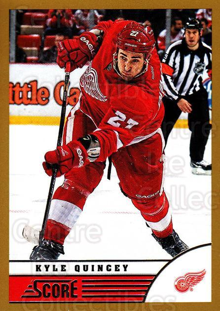 2013-14 Score Gold #174 Kyle Quincey<br/>2 In Stock - $1.00 each - <a href=https://centericecollectibles.foxycart.com/cart?name=2013-14%20Score%20Gold%20%23174%20Kyle%20Quincey...&quantity_max=2&price=$1.00&code=663492 class=foxycart> Buy it now! </a>