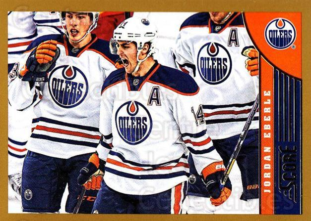 2013-14 Score Gold #181 Jordan Eberle<br/>2 In Stock - $1.00 each - <a href=https://centericecollectibles.foxycart.com/cart?name=2013-14%20Score%20Gold%20%23181%20Jordan%20Eberle...&quantity_max=2&price=$1.00&code=663499 class=foxycart> Buy it now! </a>
