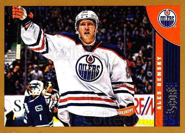 2013-14 Score Gold #188 Ales Hemsky<br/>1 In Stock - $1.00 each - <a href=https://centericecollectibles.foxycart.com/cart?name=2013-14%20Score%20Gold%20%23188%20Ales%20Hemsky...&quantity_max=1&price=$1.00&code=663506 class=foxycart> Buy it now! </a>