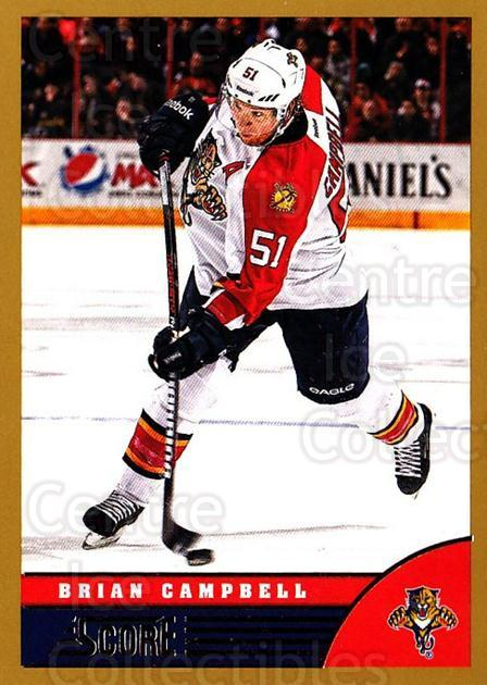 2013-14 Score Gold #200 Brian Campbell<br/>1 In Stock - $1.00 each - <a href=https://centericecollectibles.foxycart.com/cart?name=2013-14%20Score%20Gold%20%23200%20Brian%20Campbell...&quantity_max=1&price=$1.00&code=663518 class=foxycart> Buy it now! </a>