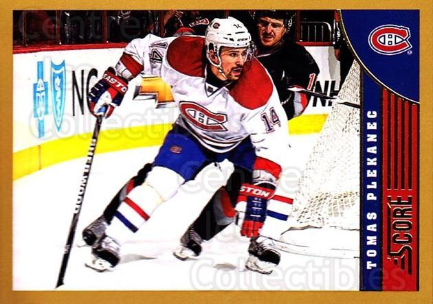2013-14 Score Gold #255 Tomas Plekanec<br/>1 In Stock - $1.00 each - <a href=https://centericecollectibles.foxycart.com/cart?name=2013-14%20Score%20Gold%20%23255%20Tomas%20Plekanec...&quantity_max=1&price=$1.00&code=663573 class=foxycart> Buy it now! </a>