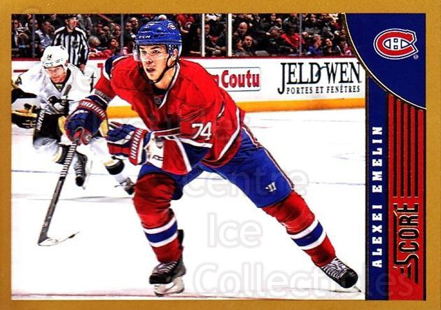 2013-14 Score Gold #268 Alexei Emelin<br/>1 In Stock - $1.00 each - <a href=https://centericecollectibles.foxycart.com/cart?name=2013-14%20Score%20Gold%20%23268%20Alexei%20Emelin...&quantity_max=1&price=$1.00&code=663586 class=foxycart> Buy it now! </a>