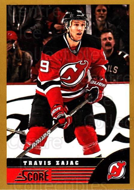 2013-14 Score Gold #294 Travis Zajac<br/>2 In Stock - $1.00 each - <a href=https://centericecollectibles.foxycart.com/cart?name=2013-14%20Score%20Gold%20%23294%20Travis%20Zajac...&quantity_max=2&price=$1.00&code=663612 class=foxycart> Buy it now! </a>