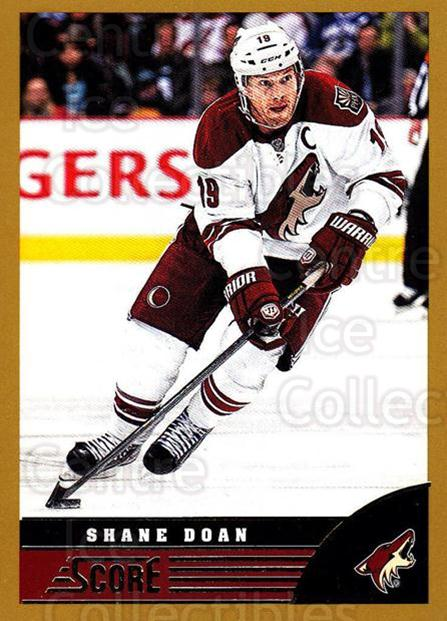2013-14 Score Gold #381 Shane Doan<br/>2 In Stock - $1.00 each - <a href=https://centericecollectibles.foxycart.com/cart?name=2013-14%20Score%20Gold%20%23381%20Shane%20Doan...&quantity_max=2&price=$1.00&code=663699 class=foxycart> Buy it now! </a>