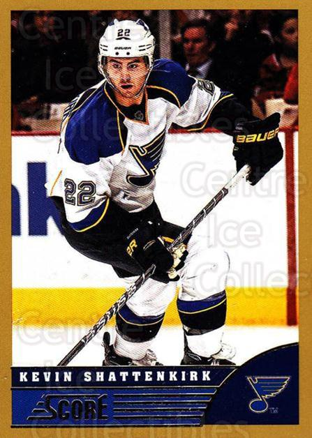 2013-14 Score Gold #440 Kevin Shattenkirk<br/>2 In Stock - $1.00 each - <a href=https://centericecollectibles.foxycart.com/cart?name=2013-14%20Score%20Gold%20%23440%20Kevin%20Shattenki...&quantity_max=2&price=$1.00&code=663758 class=foxycart> Buy it now! </a>