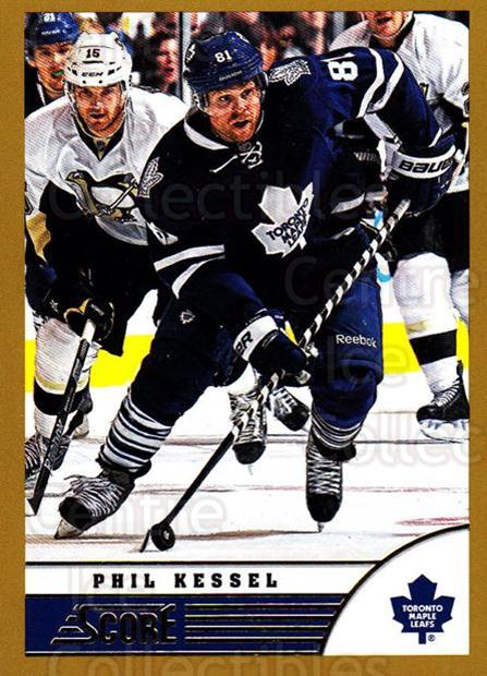 2013-14 Score Gold #476 Phil Kessel<br/>2 In Stock - $1.00 each - <a href=https://centericecollectibles.foxycart.com/cart?name=2013-14%20Score%20Gold%20%23476%20Phil%20Kessel...&quantity_max=2&price=$1.00&code=663794 class=foxycart> Buy it now! </a>