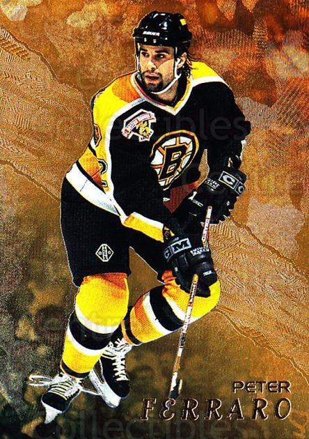 1998-99 Be A Player Gold #161 Peter Ferraro<br/>7 In Stock - $2.00 each - <a href=https://centericecollectibles.foxycart.com/cart?name=1998-99%20Be%20A%20Player%20Gold%20%23161%20Peter%20Ferraro...&price=$2.00&code=66381 class=foxycart> Buy it now! </a>