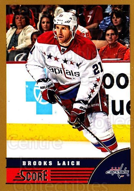 2013-14 Score Gold #516 Brooks Laich<br/>1 In Stock - $1.00 each - <a href=https://centericecollectibles.foxycart.com/cart?name=2013-14%20Score%20Gold%20%23516%20Brooks%20Laich...&quantity_max=1&price=$1.00&code=663834 class=foxycart> Buy it now! </a>