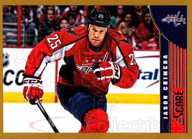 2013-14 Score Gold #526 Jason Chimera<br/>1 In Stock - $1.00 each - <a href=https://centericecollectibles.foxycart.com/cart?name=2013-14%20Score%20Gold%20%23526%20Jason%20Chimera...&quantity_max=1&price=$1.00&code=663844 class=foxycart> Buy it now! </a>