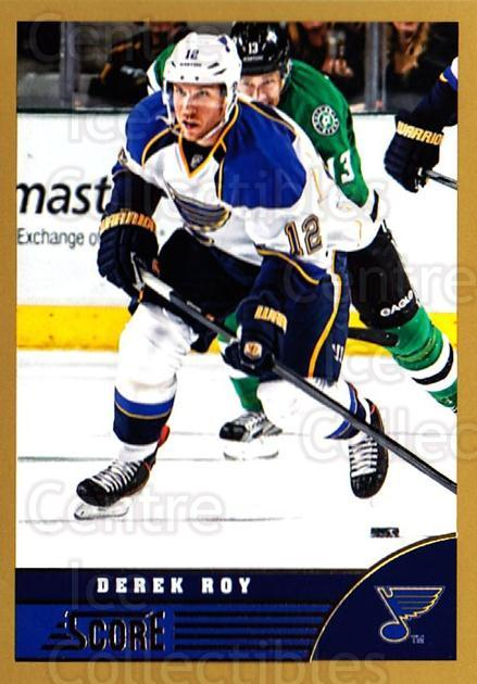 2013-14 Score Gold #679 Derek Roy<br/>1 In Stock - $1.00 each - <a href=https://centericecollectibles.foxycart.com/cart?name=2013-14%20Score%20Gold%20%23679%20Derek%20Roy...&quantity_max=1&price=$1.00&code=663997 class=foxycart> Buy it now! </a>