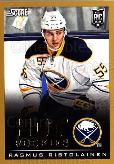 2013-14 Score Gold #692 Rasmus Ristolainen<br/>1 In Stock - $5.00 each - <a href=https://centericecollectibles.foxycart.com/cart?name=2013-14%20Score%20Gold%20%23692%20Rasmus%20Ristolai...&quantity_max=1&price=$5.00&code=664010 class=foxycart> Buy it now! </a>