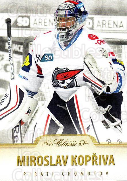 2015-16 Czech OFS Classic #145 Miroslav Kopriva<br/>1 In Stock - $2.00 each - <a href=https://centericecollectibles.foxycart.com/cart?name=2015-16%20Czech%20OFS%20Classic%20%23145%20Miroslav%20Kopriv...&quantity_max=1&price=$2.00&code=664213 class=foxycart> Buy it now! </a>