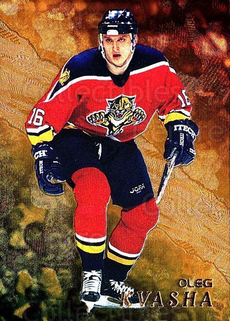 1998-99 Be A Player Gold #210 Oleg Kvasha<br/>8 In Stock - $2.00 each - <a href=https://centericecollectibles.foxycart.com/cart?name=1998-99%20Be%20A%20Player%20Gold%20%23210%20Oleg%20Kvasha...&quantity_max=8&price=$2.00&code=66422 class=foxycart> Buy it now! </a>