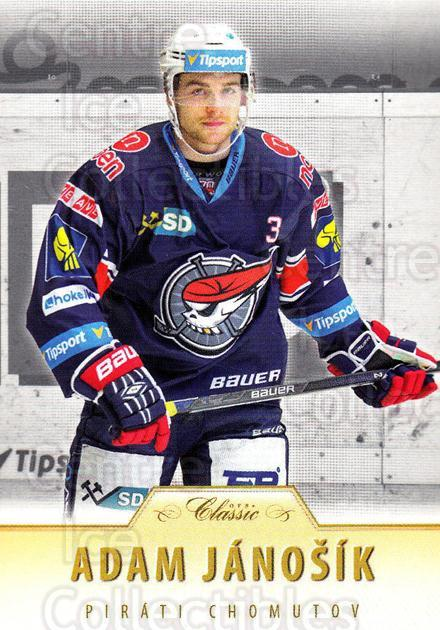 2015-16 Czech OFS Classic #269 Adam Janosik<br/>2 In Stock - $2.00 each - <a href=https://centericecollectibles.foxycart.com/cart?name=2015-16%20Czech%20OFS%20Classic%20%23269%20Adam%20Janosik...&quantity_max=2&price=$2.00&code=664337 class=foxycart> Buy it now! </a>