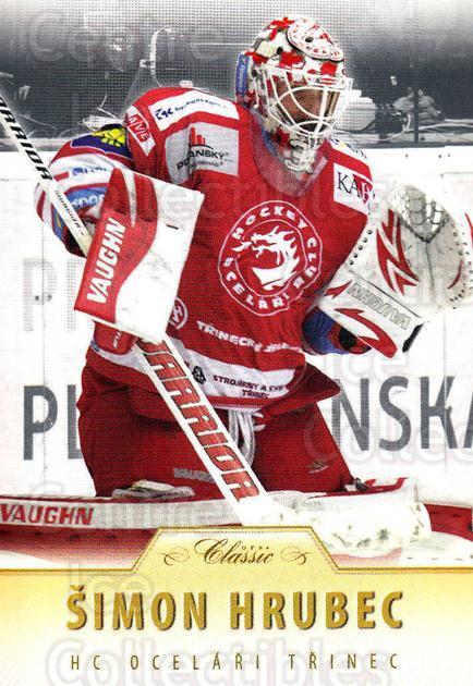2015-16 Czech OFS Classic #279 Simon Hrubec<br/>2 In Stock - $2.00 each - <a href=https://centericecollectibles.foxycart.com/cart?name=2015-16%20Czech%20OFS%20Classic%20%23279%20Simon%20Hrubec...&quantity_max=2&price=$2.00&code=664347 class=foxycart> Buy it now! </a>