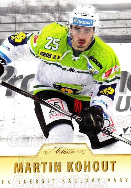 2015-16 Czech OFS Classic #295 Martin Kohout<br/>3 In Stock - $2.00 each - <a href=https://centericecollectibles.foxycart.com/cart?name=2015-16%20Czech%20OFS%20Classic%20%23295%20Martin%20Kohout...&quantity_max=3&price=$2.00&code=664363 class=foxycart> Buy it now! </a>