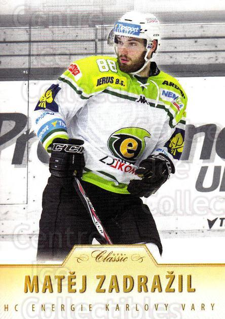 2015-16 Czech OFS Classic #300 Matej Zadrazil<br/>3 In Stock - $2.00 each - <a href=https://centericecollectibles.foxycart.com/cart?name=2015-16%20Czech%20OFS%20Classic%20%23300%20Matej%20Zadrazil...&quantity_max=3&price=$2.00&code=664368 class=foxycart> Buy it now! </a>