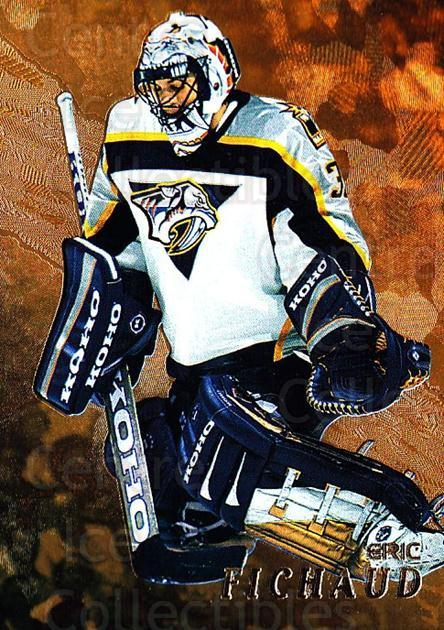 1998-99 Be A Player Gold #227 Eric Fichaud<br/>1 In Stock - $2.00 each - <a href=https://centericecollectibles.foxycart.com/cart?name=1998-99%20Be%20A%20Player%20Gold%20%23227%20Eric%20Fichaud...&price=$2.00&code=66436 class=foxycart> Buy it now! </a>