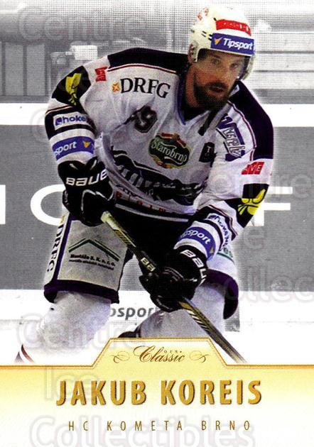 2015-16 Czech OFS Classic #304 Jakub Koreis<br/>1 In Stock - $2.00 each - <a href=https://centericecollectibles.foxycart.com/cart?name=2015-16%20Czech%20OFS%20Classic%20%23304%20Jakub%20Koreis...&quantity_max=1&price=$2.00&code=664372 class=foxycart> Buy it now! </a>