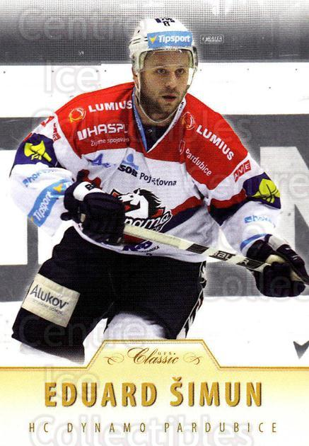 2015-16 Czech OFS Classic #334 Eduard Simun<br/>3 In Stock - $2.00 each - <a href=https://centericecollectibles.foxycart.com/cart?name=2015-16%20Czech%20OFS%20Classic%20%23334%20Eduard%20Simun...&quantity_max=3&price=$2.00&code=664402 class=foxycart> Buy it now! </a>
