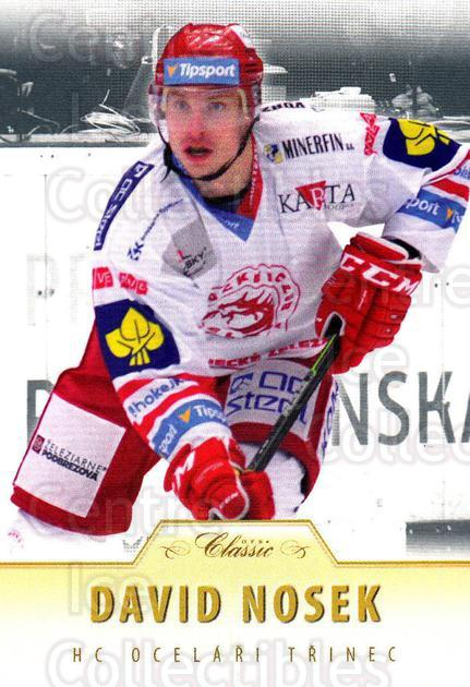 2015-16 Czech OFS Classic #383 David Nosek<br/>3 In Stock - $2.00 each - <a href=https://centericecollectibles.foxycart.com/cart?name=2015-16%20Czech%20OFS%20Classic%20%23383%20David%20Nosek...&quantity_max=3&price=$2.00&code=664451 class=foxycart> Buy it now! </a>