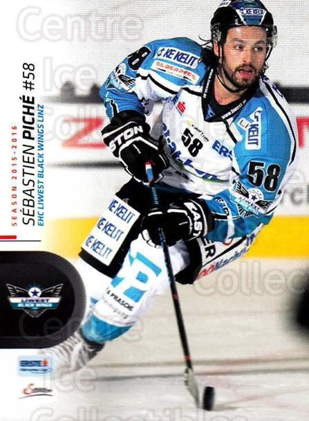 2015-16 Erste Bank Eishockey Liga EBEL #35 Sebastian Piche<br/>3 In Stock - $2.00 each - <a href=https://centericecollectibles.foxycart.com/cart?name=2015-16%20Erste%20Bank%20Eishockey%20Liga%20EBEL%20%2335%20Sebastian%20Piche...&quantity_max=3&price=$2.00&code=664527 class=foxycart> Buy it now! </a>