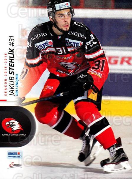 2015-16 Erste Bank Eishockey Liga EBEL #95 Jakub Stehlik<br/>2 In Stock - $2.00 each - <a href=https://centericecollectibles.foxycart.com/cart?name=2015-16%20Erste%20Bank%20Eishockey%20Liga%20EBEL%20%2395%20Jakub%20Stehlik...&quantity_max=2&price=$2.00&code=664587 class=foxycart> Buy it now! </a>