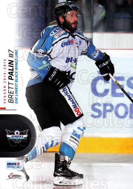 2015-16 Erste Bank Eishockey Liga EBEL #220 Brett Palin<br/>3 In Stock - $2.00 each - <a href=https://centericecollectibles.foxycart.com/cart?name=2015-16%20Erste%20Bank%20Eishockey%20Liga%20EBEL%20%23220%20Brett%20Palin...&quantity_max=3&price=$2.00&code=664712 class=foxycart> Buy it now! </a>