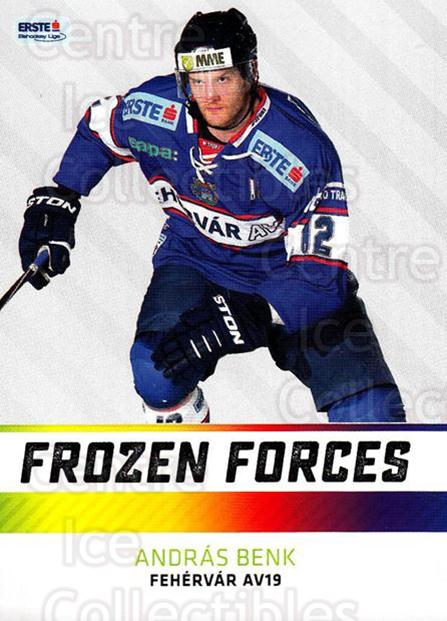 2015-16 Erste Bank Eishockey Liga EBEL Frozen Forces #6 Andras Benk<br/>2 In Stock - $3.00 each - <a href=https://centericecollectibles.foxycart.com/cart?name=2015-16%20Erste%20Bank%20Eishockey%20Liga%20EBEL%20Frozen%20Forces%20%236%20Andras%20Benk...&quantity_max=2&price=$3.00&code=664886 class=foxycart> Buy it now! </a>