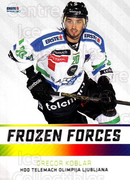 2015-16 Erste Bank Eishockey Liga EBEL Frozen Forces #12 Gregor Koblar<br/>2 In Stock - $3.00 each - <a href=https://centericecollectibles.foxycart.com/cart?name=2015-16%20Erste%20Bank%20Eishockey%20Liga%20EBEL%20Frozen%20Forces%20%2312%20Gregor%20Koblar...&quantity_max=2&price=$3.00&code=664892 class=foxycart> Buy it now! </a>