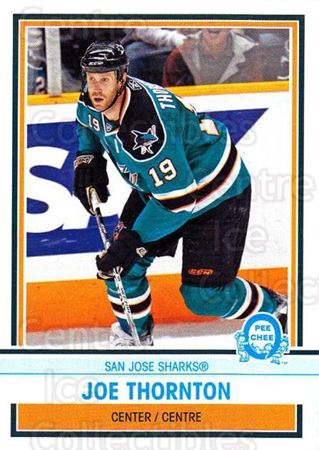 2009-10 O-Pee-chee Box Bottoms #14 Joe Thornton<br/>2 In Stock - $2.00 each - <a href=https://centericecollectibles.foxycart.com/cart?name=2009-10%20O-Pee-chee%20Box%20Bottoms%20%2314%20Joe%20Thornton...&quantity_max=2&price=$2.00&code=664962 class=foxycart> Buy it now! </a>