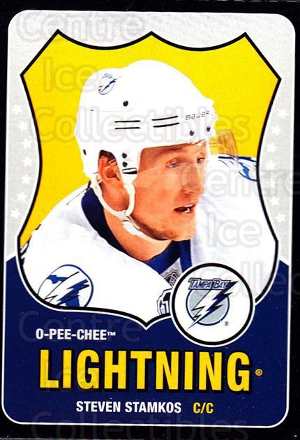 2010-11 O-Pee-chee Box Bottoms #14 Steven Stamkos<br/>4 In Stock - $3.00 each - <a href=https://centericecollectibles.foxycart.com/cart?name=2010-11%20O-Pee-chee%20Box%20Bottoms%20%2314%20Steven%20Stamkos...&price=$3.00&code=664980 class=foxycart> Buy it now! </a>