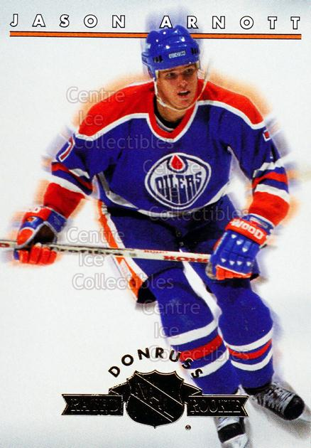 1993-94 Donruss Rated Rookies #12 Jason Arnott<br/>12 In Stock - $2.00 each - <a href=https://centericecollectibles.foxycart.com/cart?name=1993-94%20Donruss%20Rated%20Rookies%20%2312%20Jason%20Arnott...&quantity_max=12&price=$2.00&code=6652 class=foxycart> Buy it now! </a>