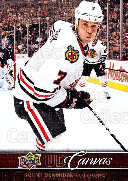 2012-13 Upper Deck Canvas #20 Brent Seabrook<br/>4 In Stock - $2.00 each - <a href=https://centericecollectibles.foxycart.com/cart?name=2012-13%20Upper%20Deck%20Canvas%20%2320%20Brent%20Seabrook...&quantity_max=4&price=$2.00&code=665615 class=foxycart> Buy it now! </a>