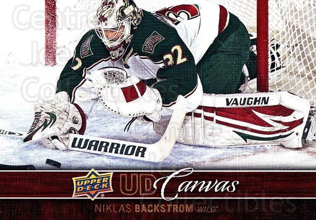 2012-13 Upper Deck Canvas #42 Niklas Backstrom<br/>1 In Stock - $2.00 each - <a href=https://centericecollectibles.foxycart.com/cart?name=2012-13%20Upper%20Deck%20Canvas%20%2342%20Niklas%20Backstro...&quantity_max=1&price=$2.00&code=665637 class=foxycart> Buy it now! </a>