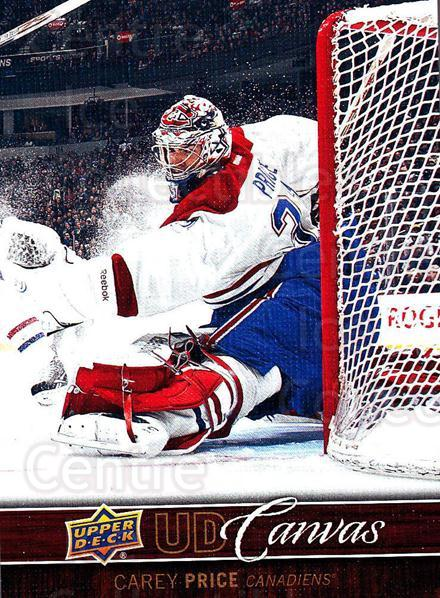 2012-13 Upper Deck Canvas #45 Carey Price<br/>1 In Stock - $5.00 each - <a href=https://centericecollectibles.foxycart.com/cart?name=2012-13%20Upper%20Deck%20Canvas%20%2345%20Carey%20Price...&quantity_max=1&price=$5.00&code=665640 class=foxycart> Buy it now! </a>