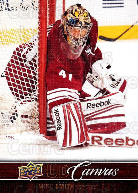 2012-13 Upper Deck Canvas #65 Mike Smith<br/>3 In Stock - $2.00 each - <a href=https://centericecollectibles.foxycart.com/cart?name=2012-13%20Upper%20Deck%20Canvas%20%2365%20Mike%20Smith...&quantity_max=3&price=$2.00&code=665660 class=foxycart> Buy it now! </a>