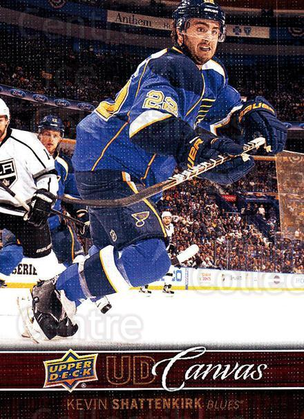 2012-13 Upper Deck Canvas #75 Kevin Shattenkirk<br/>3 In Stock - $2.00 each - <a href=https://centericecollectibles.foxycart.com/cart?name=2012-13%20Upper%20Deck%20Canvas%20%2375%20Kevin%20Shattenki...&quantity_max=3&price=$2.00&code=665670 class=foxycart> Buy it now! </a>