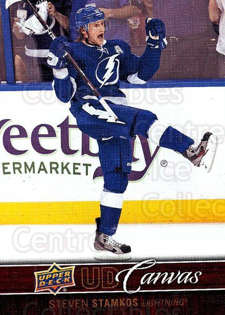 2012-13 Upper Deck Canvas #76 Steven Stamkos<br/>2 In Stock - $3.00 each - <a href=https://centericecollectibles.foxycart.com/cart?name=2012-13%20Upper%20Deck%20Canvas%20%2376%20Steven%20Stamkos...&price=$3.00&code=665671 class=foxycart> Buy it now! </a>