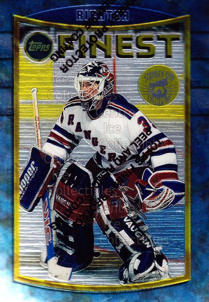 1994-95 Finest Super Team Winner Redeemed #86 Mike Richter<br/>6 In Stock - $2.00 each - <a href=https://centericecollectibles.foxycart.com/cart?name=1994-95%20Finest%20Super%20Team%20Winner%20Redeemed%20%2386%20Mike%20Richter...&quantity_max=6&price=$2.00&code=665 class=foxycart> Buy it now! </a>