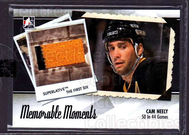 2013-14 ITG Superlative Memorable Moments Jersey #18 Cam Neely<br/>1 In Stock - $20.00 each - <a href=https://centericecollectibles.foxycart.com/cart?name=2013-14%20ITG%20Superlative%20Memorable%20Moments%20Jersey%20%2318%20Cam%20Neely...&quantity_max=1&price=$20.00&code=666382 class=foxycart> Buy it now! </a>