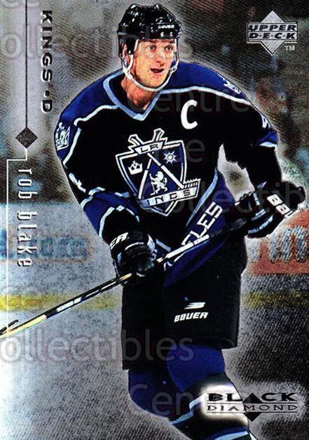 1998-99 Black Diamond #41 Rob Blake<br/>10 In Stock - $1.00 each - <a href=https://centericecollectibles.foxycart.com/cart?name=1998-99%20Black%20Diamond%20%2341%20Rob%20Blake...&quantity_max=10&price=$1.00&code=66657 class=foxycart> Buy it now! </a>